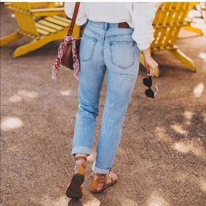 Madewell summer jeans